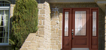 photo of front entry door