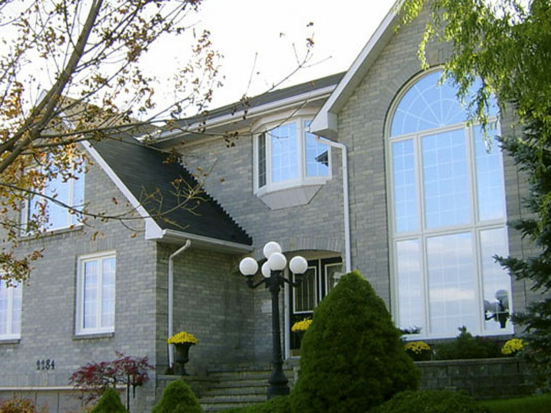 photo of home with energy efficient windows